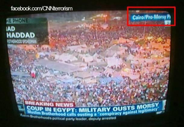 """CNN'in Tahrir'i """"Mursi destekçisi"""" yapması Mısırlıları kızdırdı"""