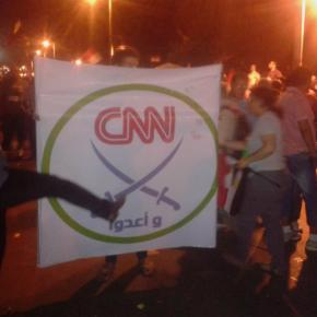 Mısırlılar da CNN'ekızdı!
