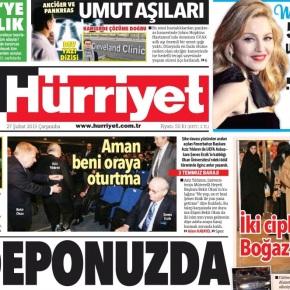 Hürriyet'in tirajda kan kaybısürüyor