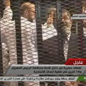 """""""Mursi'ye ölüm"""" diye tezahürat yapangazeteciler"""