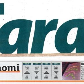 Kâr eden Taraf gazetesi borsadaçakılıyor