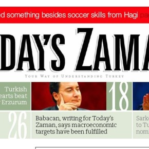 Today's Zaman internette eriyor